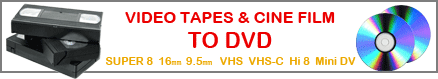 Video tape to DVD